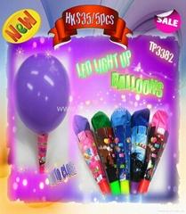 The the luminous balloon tail balloon clown balloon twisting balloon led balloon
