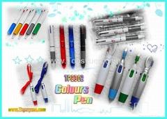 Advertising Pen 4 COLOURS PEN 2 COLOURS