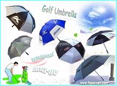 Advertising umbrella Gol