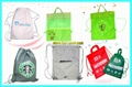 Green bag shopping bag canvas bag articles
