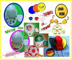 Frisbee fan Nylon Caps