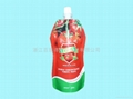 spout pouch for tomato paste