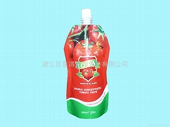 spout pouch for tomato paste (Hot Product - 1*)