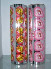 packaging film for jelly cups