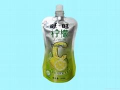 果汁自立袋
