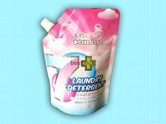 500ml洗衣液自立袋