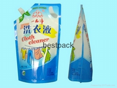 stand up pouch for liquid detergent 2kg