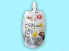 高温豆奶袋