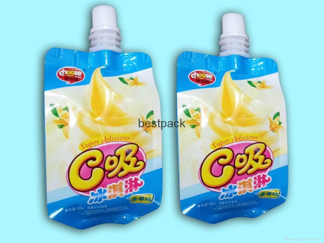 side gusset bag for smoothie 80g
