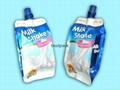 side gusset bag for milk shake 200ml
