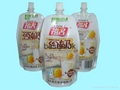 standup pouch for soybean milk 250ml