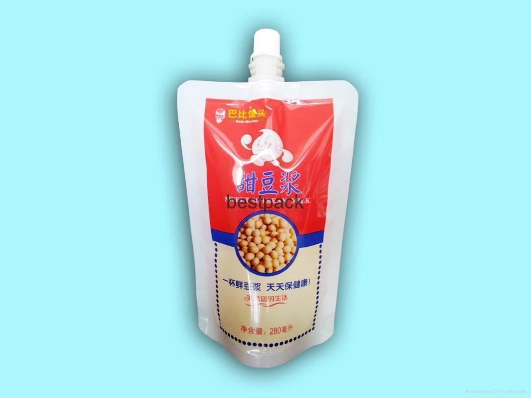 豆浆自立袋