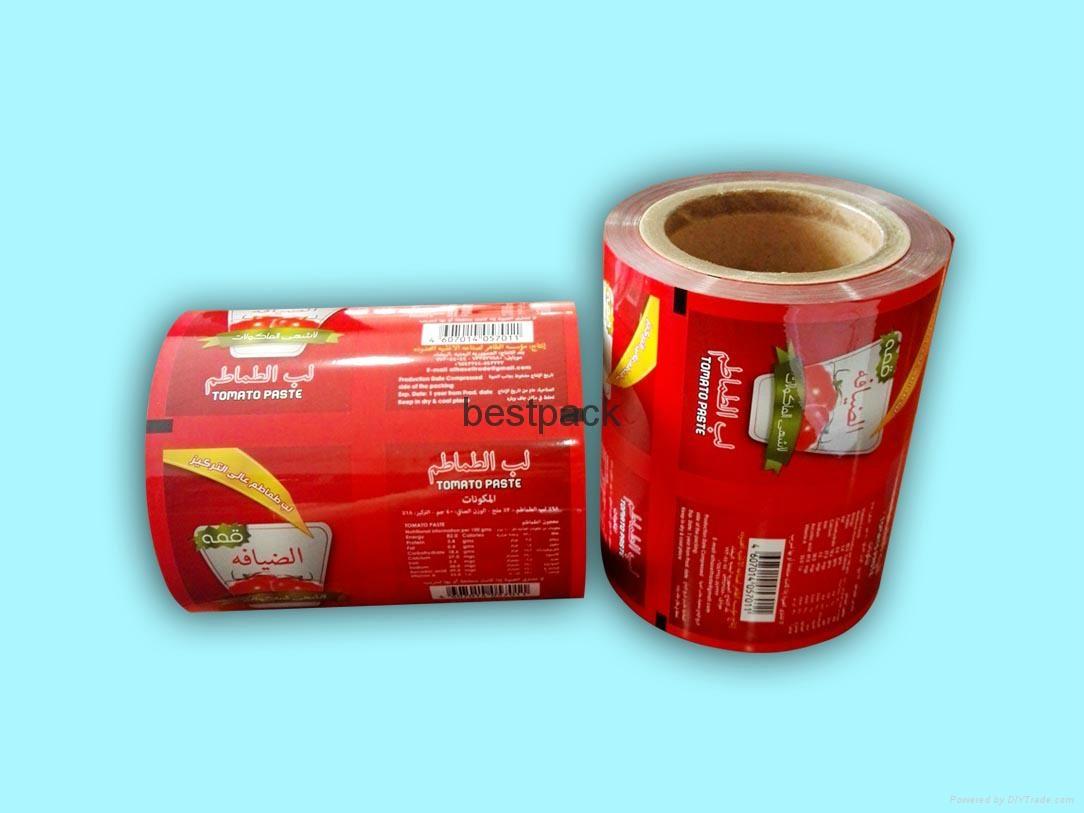 rollstock for tomato paste 1