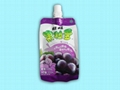 side gusset bag for juice 300ml