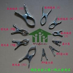 多種型號不鏽鋼衣夾(綜合)