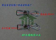 不锈钢实心线夹(201)