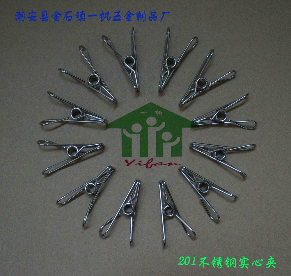 不锈钢实心线夹(201) 4
