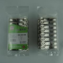 工厂直销 富米丽 中号不锈钢弧形棉被夹 衣夹(M)彩卡包装
