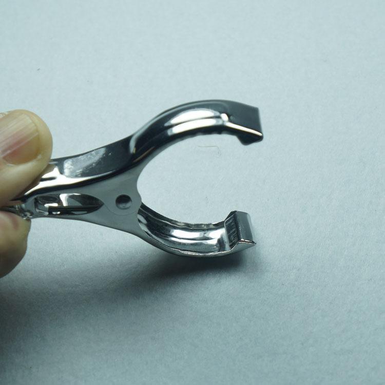 工廠直銷 富米麗 中號不鏽鋼弧形棉被夾 衣夾(M)彩卡包裝 5