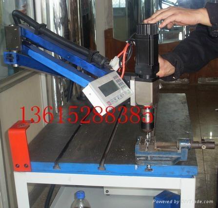江苏摇臂式数控电动攻丝机 1