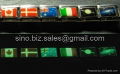 Glow in the Dark Italian Charms