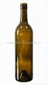 Bordeaux Bottle 750ml wine bottle glass bottle