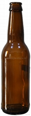 Beer Bottle 330ml glass bottle Amber bottle (Hot Product - 1*)