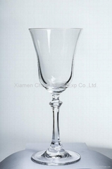 Crystal Glassware  Wine Glass  Pyramid Series(H021.4307)