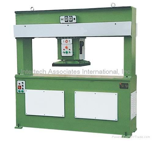 Hydraulix pressure powered cutting machine
