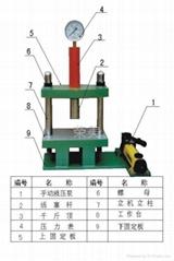 Two-column hydraulic press