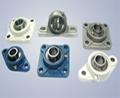 Bearing units and Wheel hub units
