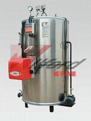 vertical steam boiler gas fired