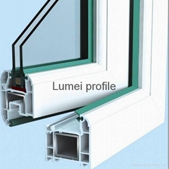 PVC Window Profile in Di