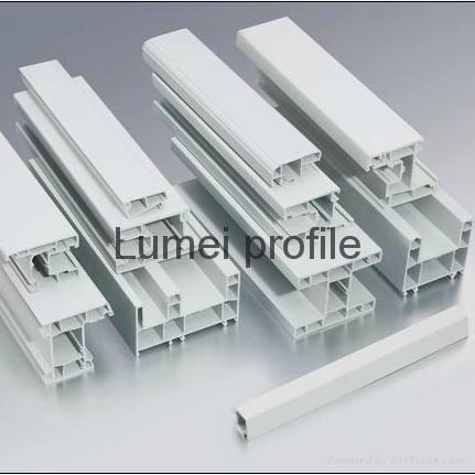 High Quality Best Price Lumei UPVC Profiles 1