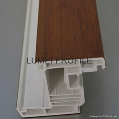 pvc window profile supplier