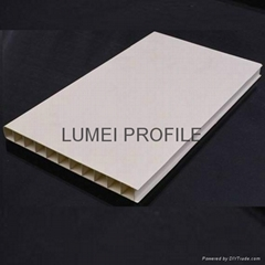 upvc profile with different section in China