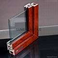 Upvc window profiles supplier in china 70 series lumei for Upvc window profiles