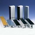 Sliding series plastic window profile