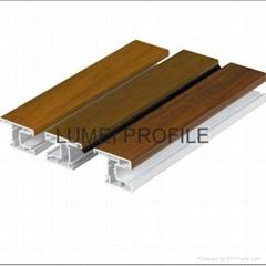 Lamination pvc plastic profiles