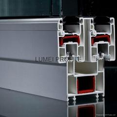 pvc plastic window profile supplier