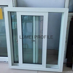 80 sliding series pvc  window profile