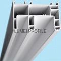 upvc window profile for slidng windows