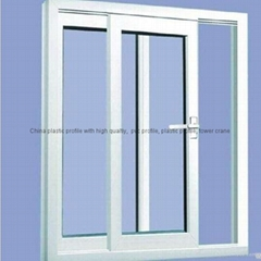 High Quality PVC Window UPVC Window Plastic Window and Door
