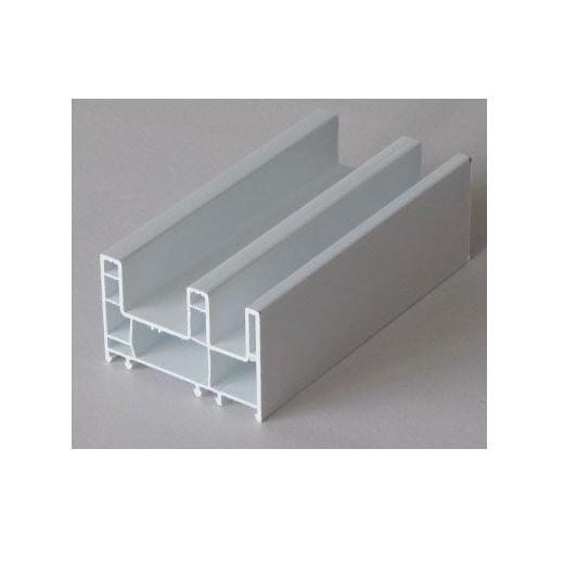 Pvc Window Shapes : Plastic window profiles in irovry white color series