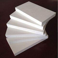 plastic foam sheet and pvc foam broad in china