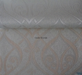 Silver yarn dyed blackout roller blinds