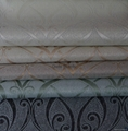 Silver yarn dyed blackout roller blinds 4