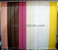 Finished Vertical Blinds
