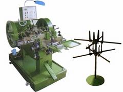 Bimetal contact rivet machine