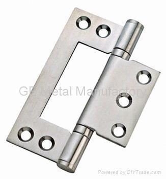 Stainless Steel Flush Hinge,Enameled hinge 1